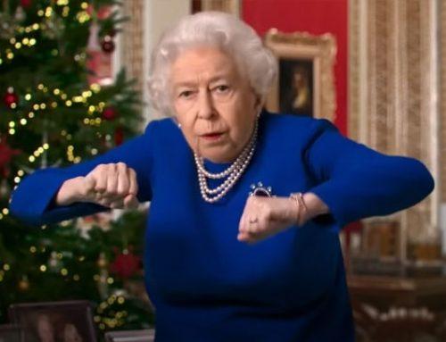 AI로 만든 '가짜 영국여왕',성탄메시지서 춤 추기도